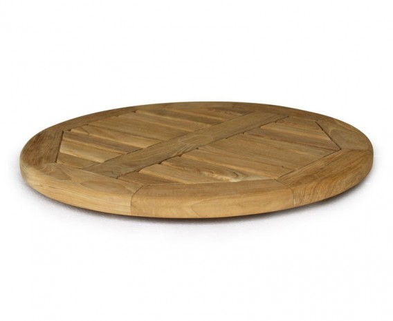 Large Lazy Susan, Teak – 0.6m