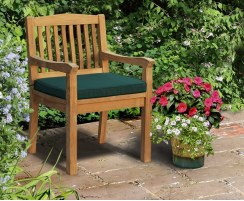 Hilgrove Teak Armchair with cushion