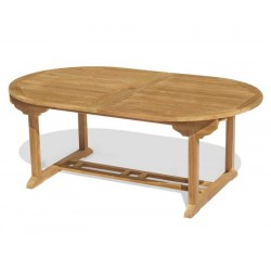 Teak Dining Set with Brompton Extending 2 - 3m Table