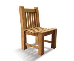 Balmoral Heavy-Duty Teak Garden Dining Chair