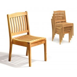 Hilgrove Stacking Garden Chairs