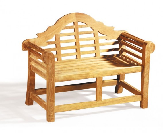 Lutyens Children's Garden Bench, Teak