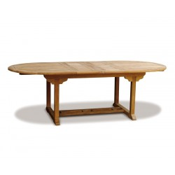 Brompton 8 Seater Extendable Teak Table 1.1x1.8-2.4m