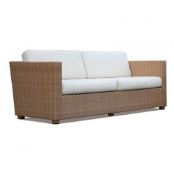 Riviera All-Weather Wicker Rattan Sofa Set, Patio Conversation Set