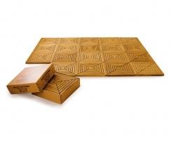 Teak Decking Tiles – Patterned