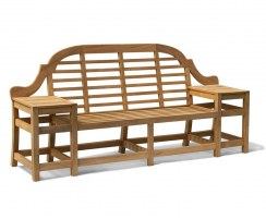 decorative outdoor bench