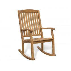 Teak Garden Rocking Chair, Outdoor Patio Rocker