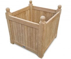 Teak Grand Versailles Wooden Planter – Bespoke