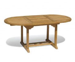 Brompton Bijou Teak Extending Dining Table – 0.9 x 1.2 - 1.8m