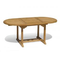 Brompton Bijou Extendable Teak Table – 1.2 - 1.8m