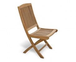 Rimini Folding Garden Chair, Teak Outdoor Chair