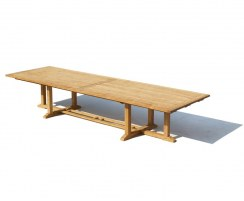 Hilgrove Teak Rectangular Extra-Large Garden Table – 4m