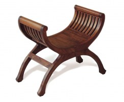 Teak Regency Indoor Stool