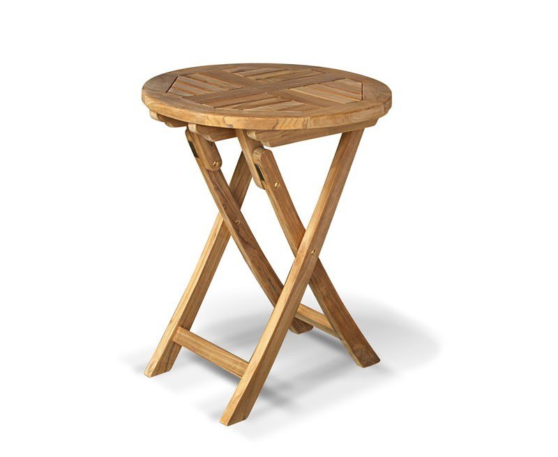 Suffolk Round Teak Table 60cm