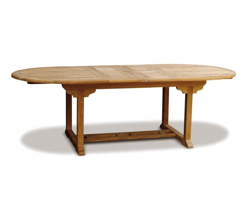 Brompton Teak Extending Garden Table – 1.8 - 2.4m