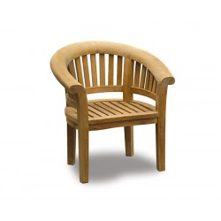 Deluxe Banana Chair, Wooden Garden Tub Chair