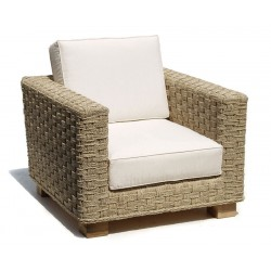 Seagrass Sofa Armchair, Water Hyacinth Armchair