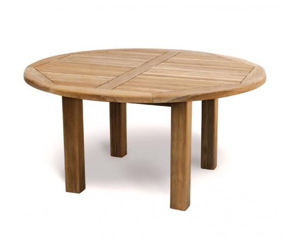 brand new 78c42 0d3e6 Titan 5ft Teak Round Outdoor Table – 1.5m