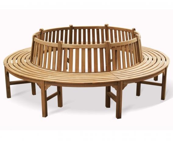 Teak Circular Tree Seat Bespoke