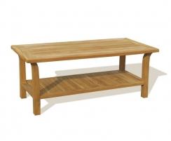 Rectangular Teak Day Table – 0.7 x 1.5m