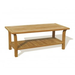 Teak Coffee Table, Rectangular