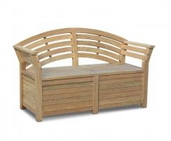 Salisbury Garden Storage Bench 1.65m
