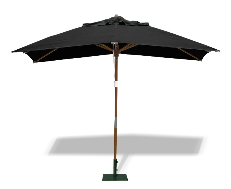 rectangular garden parasol 3 x 2m. Black Bedroom Furniture Sets. Home Design Ideas