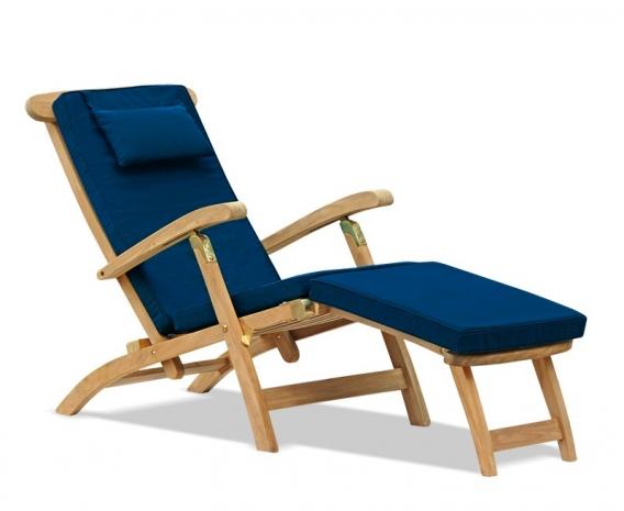 Halo Teak Wooden Steamer Chair Sun