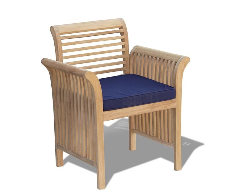 Outdoor Cushion Custom Made To Fit Our Aero Teak Garden