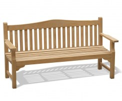 Tribute Teak 6ft Commemorative Bench – 1.8m