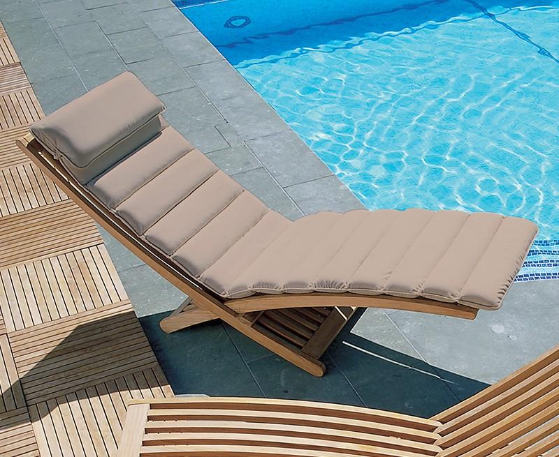 Chelsea Contemporary Sun Lounger Adjustable Sun Lounger