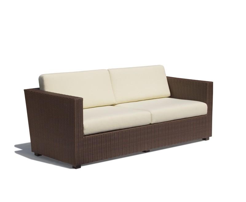 riviera 4 seater rattan garden sofa 2m - Rattan Garden Furniture 4 Seater