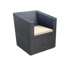 rattan all weather wicker chair