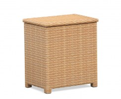 Tango Rattan Storage Box with lid, Wicker Storage Chest