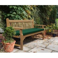Taverners Teak Traditional 6ft Garden Bench 1 8m