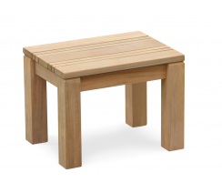 Chichester Wooden Stool, Teak Shower Bench