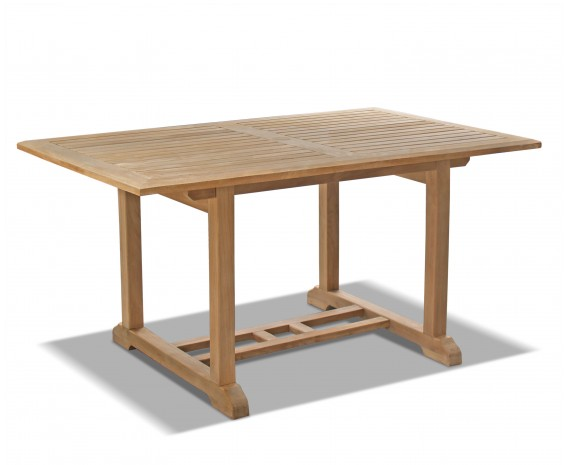 Hilgrove 5ft Solid Wood Rectangular Patio Table – 1.5m