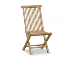 Ashdown High-back Garden Chair, Foldable, Teak