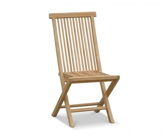 Ashdown High Back Garden Chair Foldable Teak Jpg