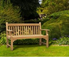 teak 5ft outdoor bench