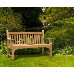 teak 5ft outdoor bench