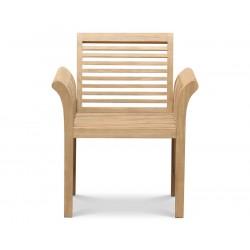 Aero Contemporary Teak Garden Armchair