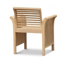 Aero Contemporary Teak Garden Armchair