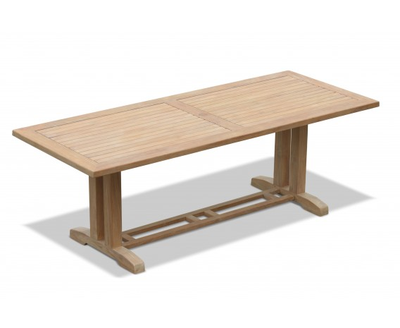 Astounding Cadogan Rectangular Teak Outdoor Table 2 25M Dailytribune Chair Design For Home Dailytribuneorg