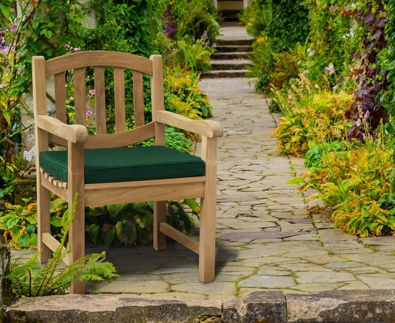 Ascot Teak Hardwood Outdoor Armchair