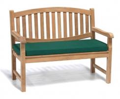 Ascot 2 Seater Teak Garden Bench – 1.2m