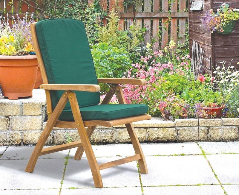 Bali Reclining Garden Chair Teak
