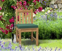Hilgrove 8 Seater Garden Table 1.3 x 2.6m & Dining Chairs