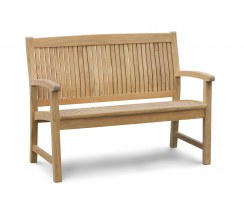 Bali 2 Seater Teak Outdoor Bench – 1.2m
