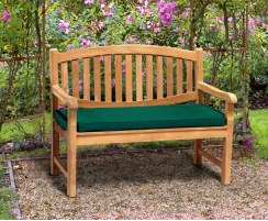Magnificent Ascot 2 Seater Teak Garden Bench 1 2M Gamerscity Chair Design For Home Gamerscityorg